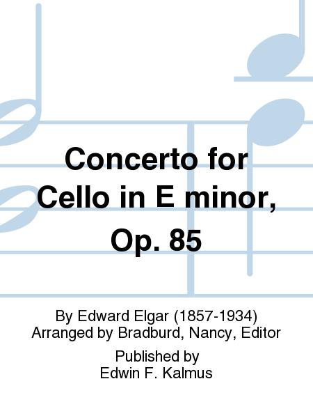 Concerto for Cello in E minor, Op. 85