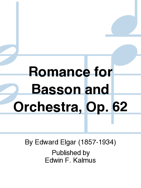 Romance for Basson and Orchestra, Op. 62