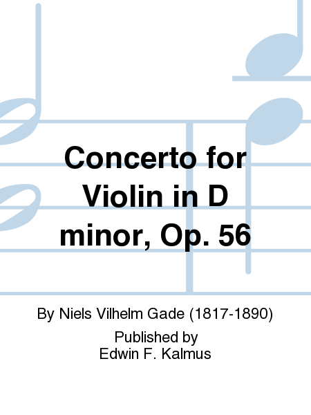 Concerto for Violin in D minor, Op. 56