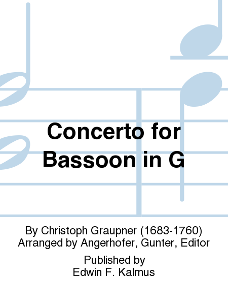 Concerto for Bassoon in G