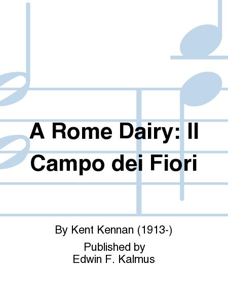 A Rome Dairy: Il Campo dei Fiori