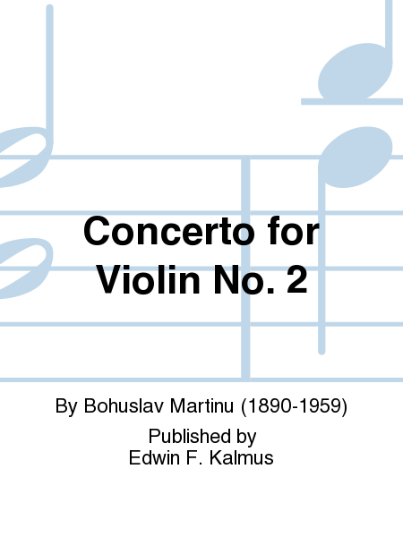 Concerto for Violin No. 2