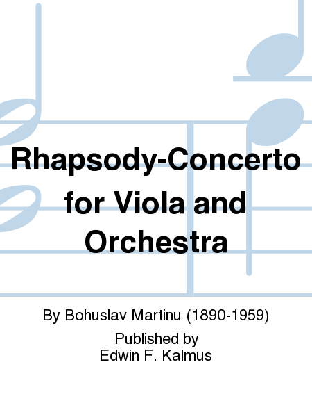 Rhapsody-Concerto for Viola and Orchestra