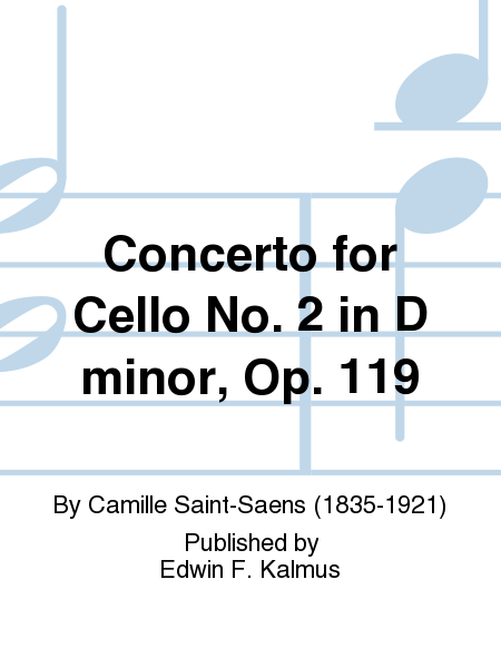 Concerto for Cello No. 2 in D minor, Op. 119