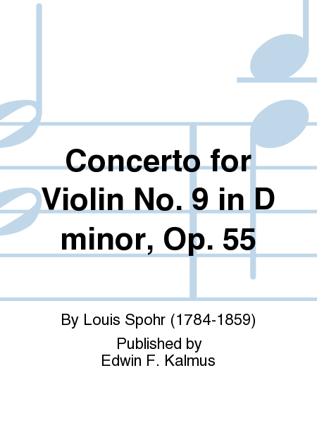 Concerto for Violin No. 9 in D minor, Op. 55