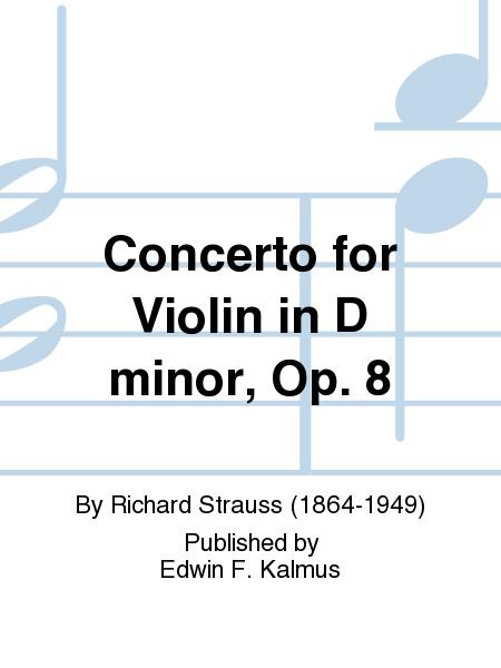 Concerto for Violin in D minor, Op. 8