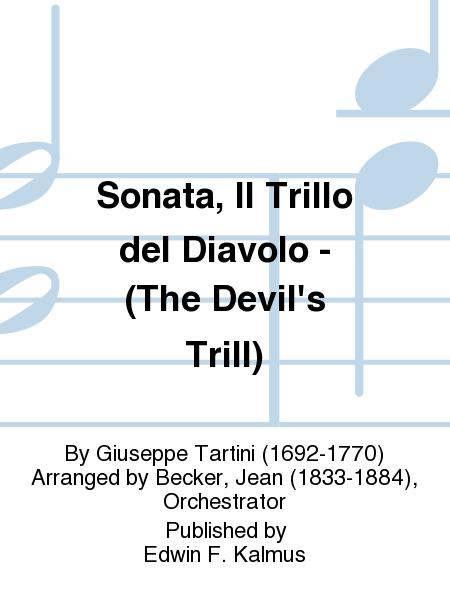 Sonata, Il Trillo del Diavolo - (The Devil's Trill)