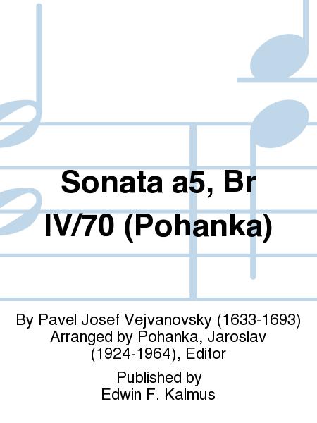 Sonata a5, Br IV/70 (Pohanka)