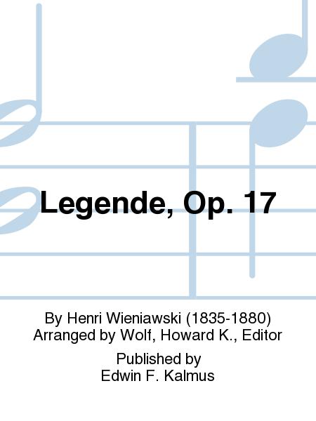 Legende, Op. 17