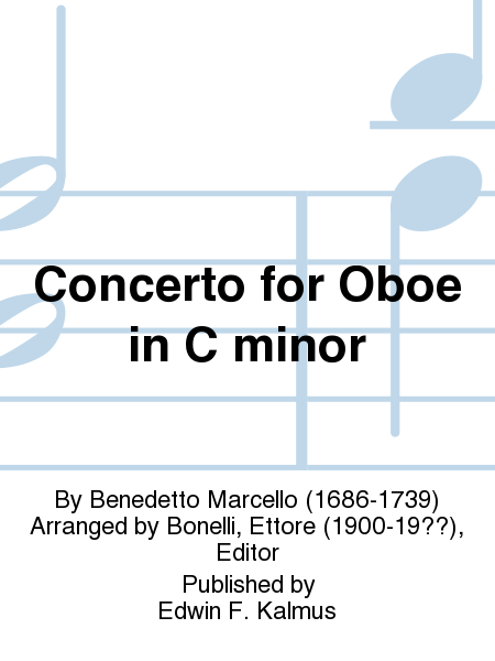 Concerto for Oboe in C minor