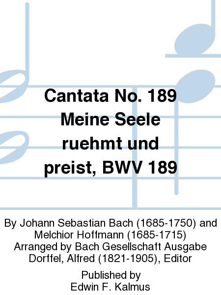 Cantata No. 189 Meine Seele ruehmt und preist, BWV 189
