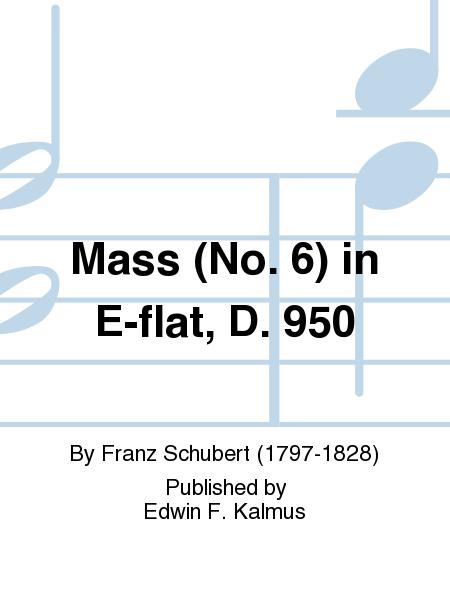 Mass (No. 6) in E-flat, D. 950