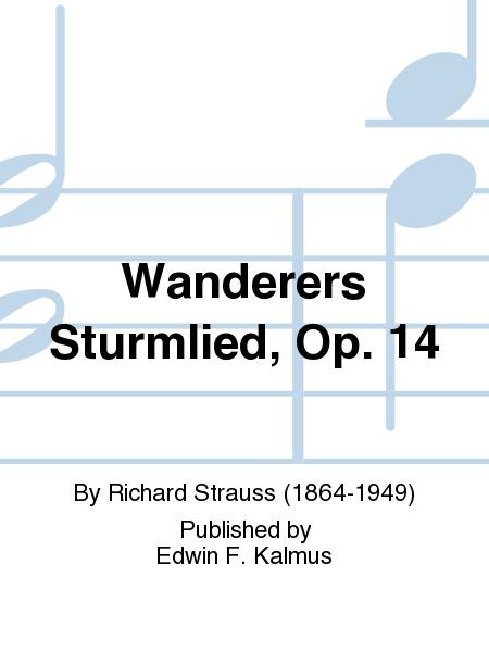 Wanderers Sturmlied, Op. 14