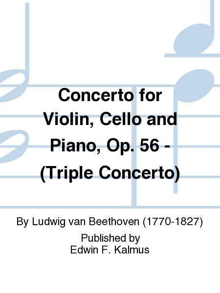 Concerto for Violin, Cello and Piano, Op. 56 - (Triple Concerto)
