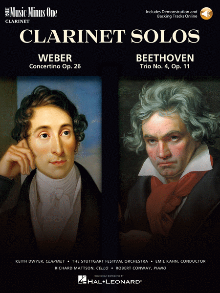 Weber - Concertino Op. 26 & Beethoven - Trio for Piano, Cello & Clarinet, Op. 11