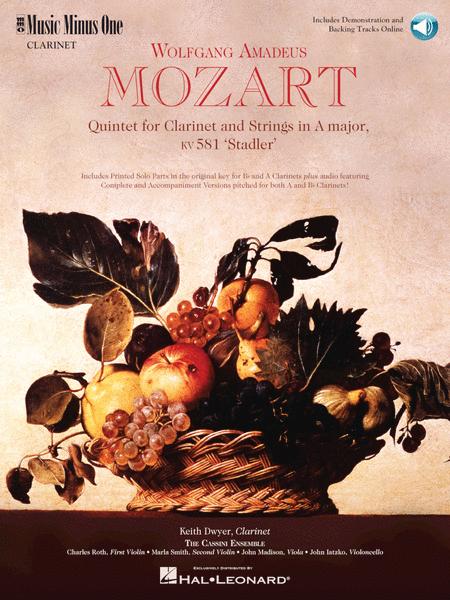 MOZART: Quintet in A, KV581 (2 CD Set)