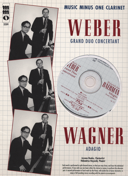 Weber - Grand Duo Concertant; Baermann - Adagio