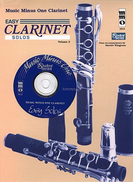 Easy Clarinet Solos, Vol. II - Student Level