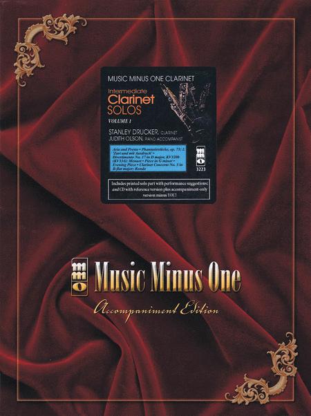 Intermediate Clarinet Solos, Vol. I (Stanley Drucker)