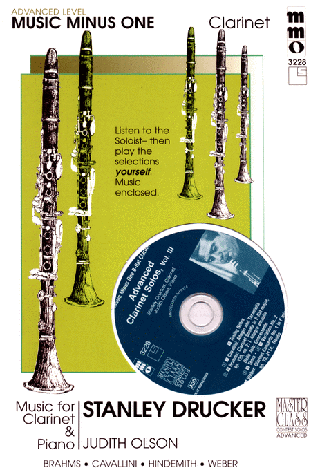 Advanced Clarinet Solos - Volume 3