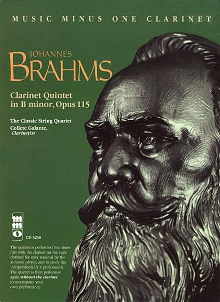 Brahms' Clarinet Quintet in b, Op. 115 (2 CD Set)