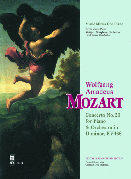 MOZART: Concerto No. 20 in D minor, KV466 (Digitally Remastered 2 CD set)