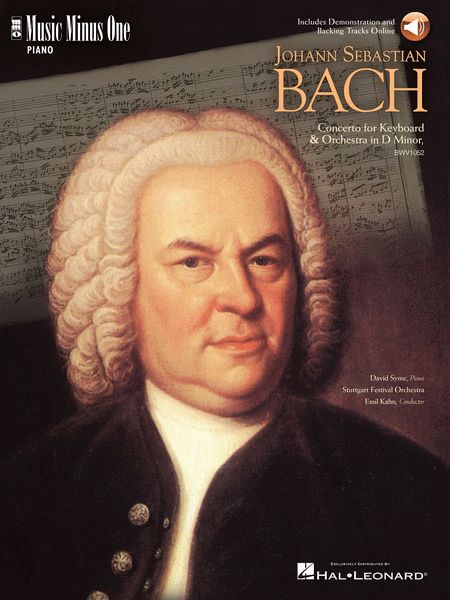 J.S. BACH: Concerto in D minor, BWV1052 (Digitally Remastered 2 CD set)