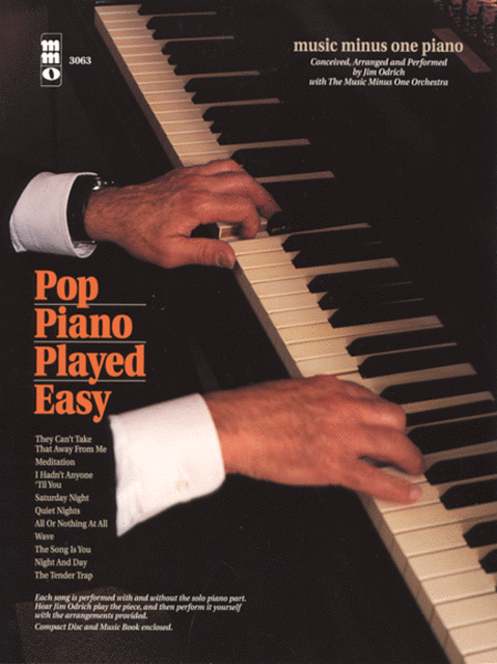 Popular Piano Made Easy, with Orchestra: Arranged by Jim Odrich
