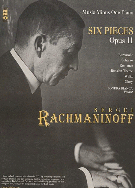 RACHMANINOV: Six Scenes for piano duet