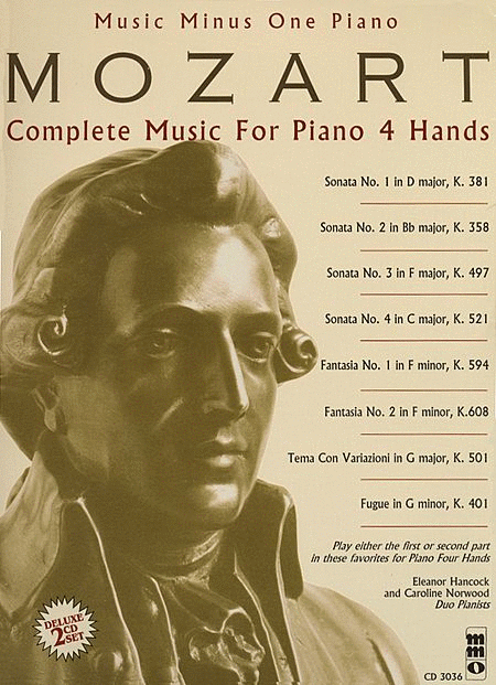 Mozart - Complete Music for Piano, 4 Hands