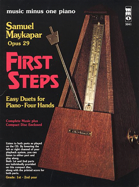 Samuel Maykapar - First Steps, Op. 29
