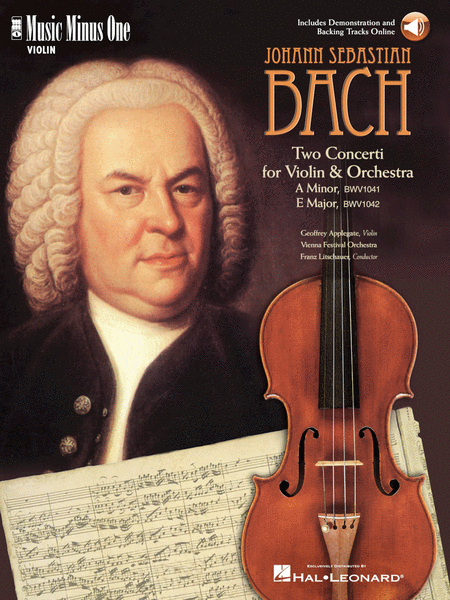 Violin Concerto No. 1 in A minor, BWV1041; Violin Concerto No. 2 in E major, BWV1042