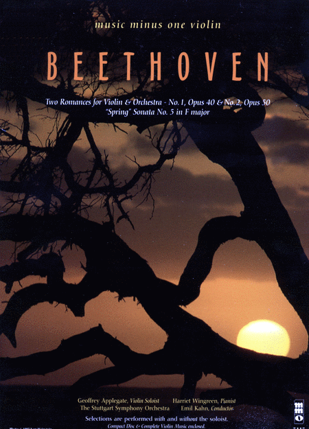 BEETHOVEN: Two Romances for Violin & Orchestra - Sonata No. 5 in F major 'Spring' (New Digitally Remastered 2 CD set)