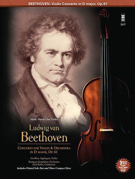 BEETHOVEN: Violin Concerto in D Major, Op. 61 (Digitally Remastered 3 CD Set)