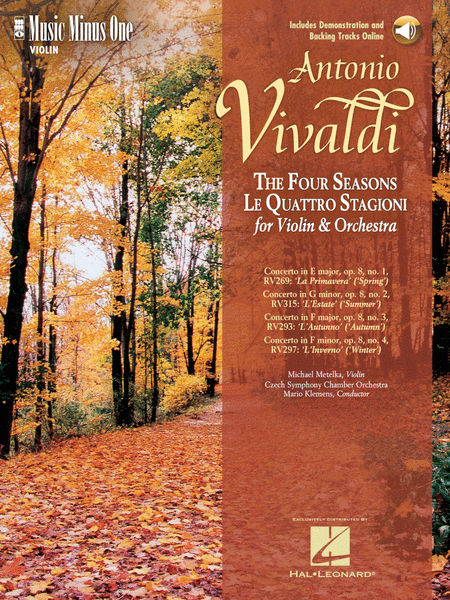 The Four Seasons, Op. 8, Nos. 1-4 - Music Minus One