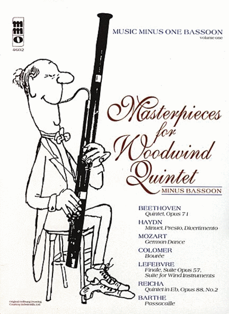 Masterpieces for Woodwind Quintet - Volume 1