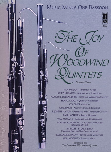 Woodwind Quintets, Volume II: The Joy of Woodwind Quintets