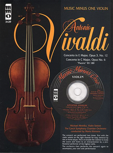 Vivaldi - Concerto in E Major, Op. 3, No. 12 & Concerto in C Major, Op. 6 Piacere RV 180