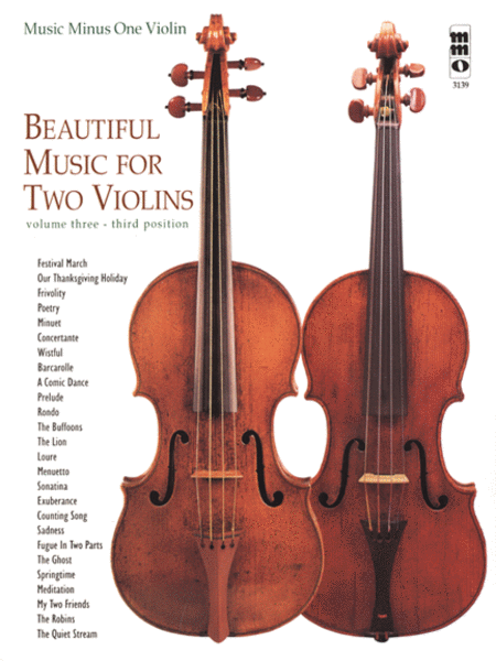 Beautiful Music for Two Violins, Vol. III: 3rd position