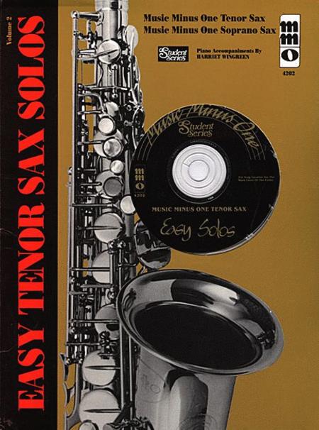 Easy Tenor Sax Solos - Volume 2