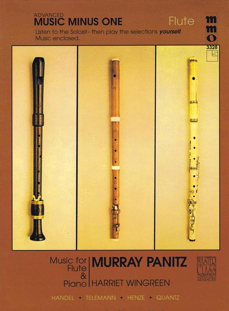 Advanced Flute Solos, Vol. III (Murray Panitz)