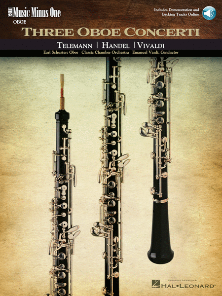 Oboe Concerti: Telemann F Minor; Handel No. 8 in B-flat Major; Vivaldi D Minor, RV454(2