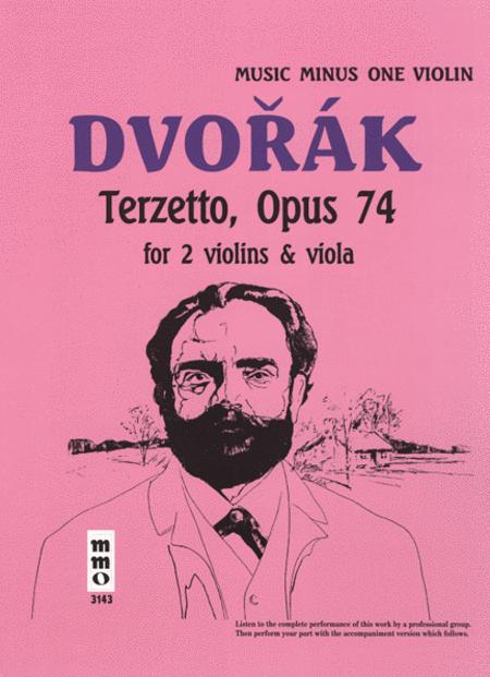 String Trio 'Terzetto' in C major, op. 74, B148 (2 violins & viola) - Violin Part