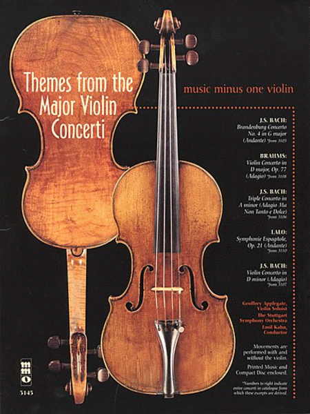 Themes from the Major Violin Concerti