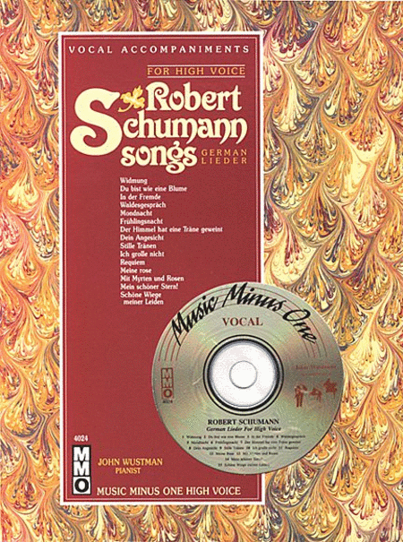 Robert Schumann - German Lieder for High Voice