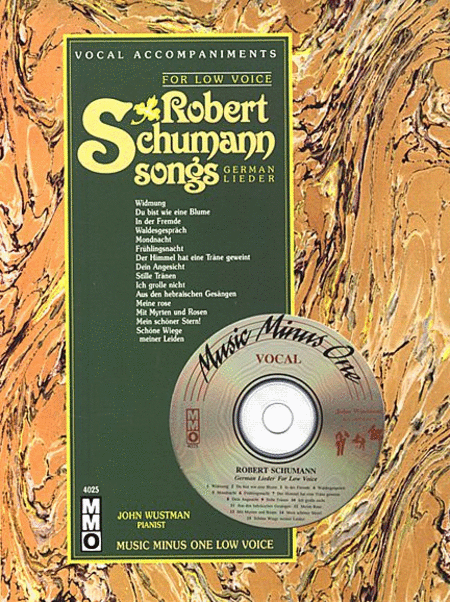 Robert Schumann Songs - German Lieder