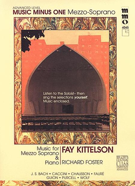 Advanced Mezzo Soprano Solos (Fay Kittelson)