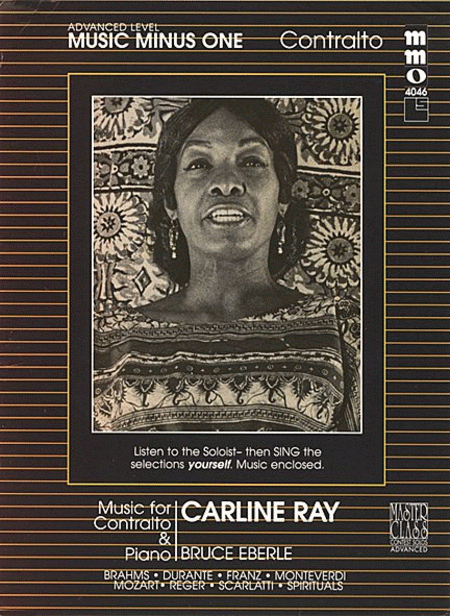 Beginning Contralto Solos (Carline Ray)