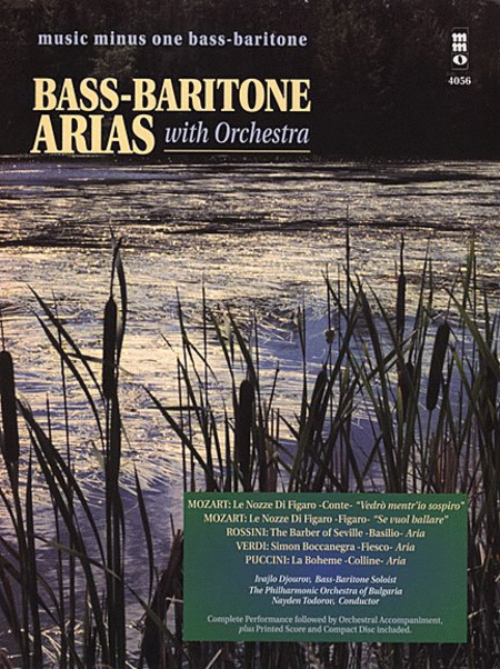 Bass-Baritone Arias with Orchestra - Volume 1