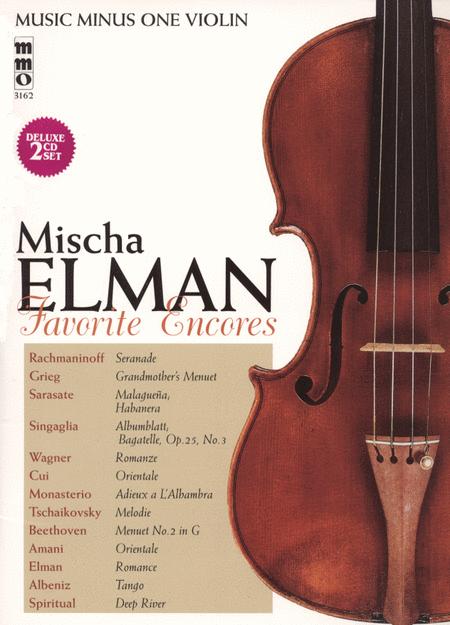 Mischa Elman - Favorite Encores